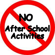 no activities