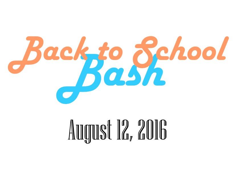Back to School Bash Flyer